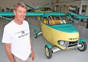 «Летающий» автомобиль стоимостью в миллион долларов