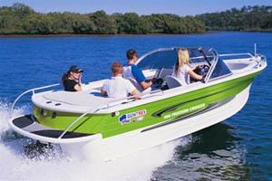 Лимитированная серия катеров Quintrex 560 Freedom Cruiser