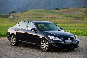 Hyundai Genesis: «автомобиль года – 2009» в США