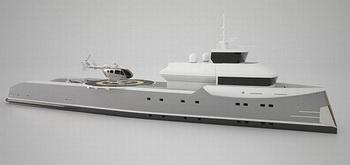Огромная яхта авианосец «Индепенденс»