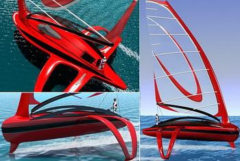Концепт яхты от Фабио Федеричи