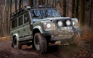 Компактный внедорожник Land Rover Blaser Edition специально для Германии