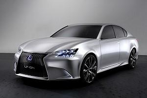 Lexus показал свой новый LF-Gh