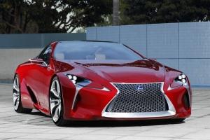 Lexus представил новый концепт LF-LC
