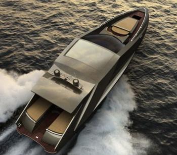 Концепт яхты Lamborghini