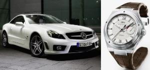 Mercedes-Benz и IWC Schaffhausen представят лимитированную серию автомобилей