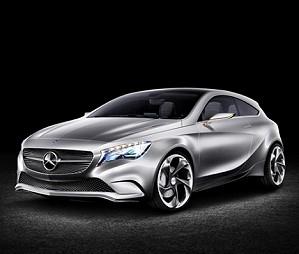 Mercedes-Benz работает над новым концептом серии A-Class