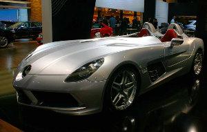 Mercedes Benz McLaren SLR Stirling Moss: лимитированная серия автомобилей за миллион долларов
