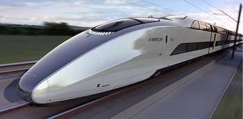 Новый двухэтажный поезд Mercury