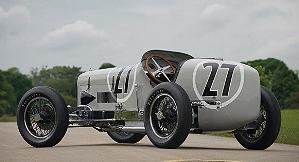 Уникальный винтажный гоночный автомобиль Miller V16 уйдет с молотка