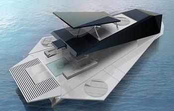 Яхта Origami откроет новые возможности