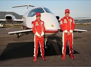 Piaggio выпустит самолет Ferrari
