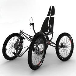 Квадрацикл Quintessential Quadricycle – интересный концепт