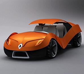 Эко-концепт Renault E0
