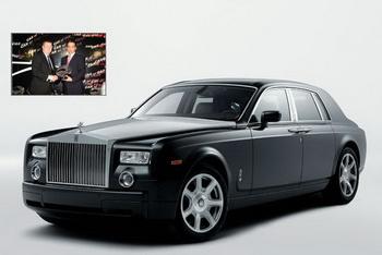 Rolls Royce Phantom - лучший автомобиль класса люкс 2009 года