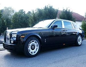Бронированный Rolls-Royce Phantom выставлен на продажу