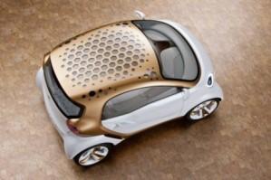 Концепт электромобиля Smart Forvision: демонстрация эффективности