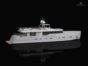 Яхта Only Now от Diana Yacht Design и Tansu Yachts