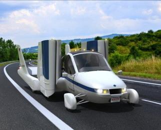 The Transition: самый стильный «летающий» автомобиль