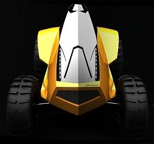 Трактор в стиле Lamborghini