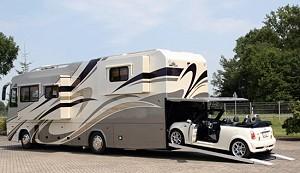 Дом на колесах от VARIO на основе грузовика