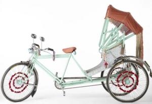 Калифорнийская версия велорикши от Anthropologie