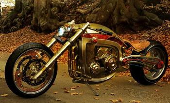 Роскошный мотоцикл «Seraphim» создан поражать одним своим видом