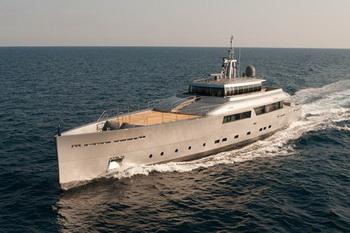 Верфь Perini Navi представила моторную яхту Exuma