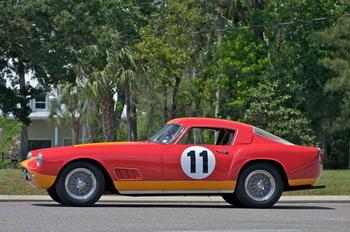 Ferrari 250 GT с богатой гоночной историей уйдет с молотка