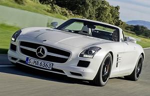Родстер Mercedes-Benz SLS AMG: стиль по-немецки