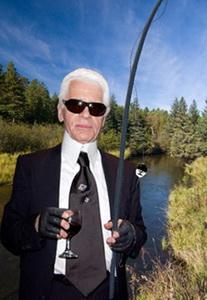 Карл Лагерфельд и Chanel представляют удочку за 20 000 долларов