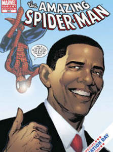 Барак Обама стал героем комиксов