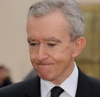 Бернар Арно возглавил список богатейших людей Франции