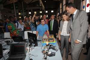 Принц Фелипе и принцесса Летиция посетили фестиваль Campus Party