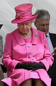 Британская королева открыла спортивный комплекс в Лее
