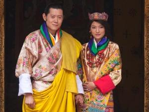 Королевская чета Бутана посетила Индию