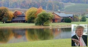 Дональд Трамп купил винзавод Kluge Estate за 6,2 миллионов долларов