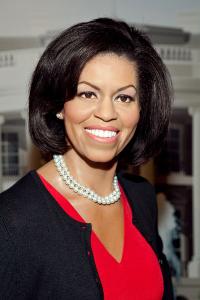 Восковая фигура Мишель Обамы появилась в Музее мадам Тюссо