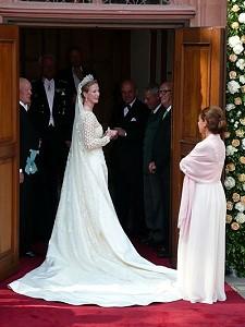 Венчание принцессы Натали не смог омрачить даже забытый букет