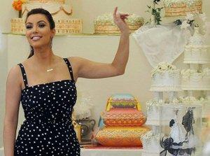 Свадебный торт Ким Кардашьян будет похож на торт со свадьбы Кейт Миддлтон и принца Уильяма
