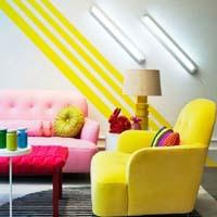 Неоновые цвета в дизайне интерьера: для любого помещения