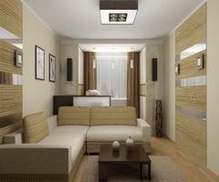 Перепланировка квартиры с объединением кухни и комнаты