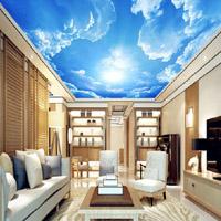 Фотообои на потолок: легкое преображение интерьера