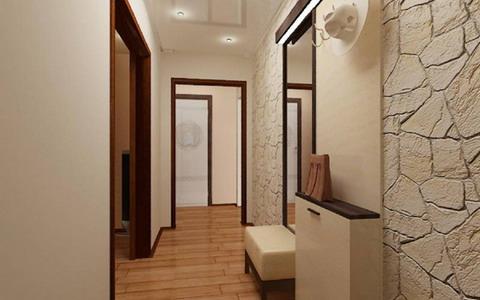 В квартире коридор г-образный фото дизайн
