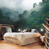 Фотообои в интерьере спальни: выразительный элемент декора