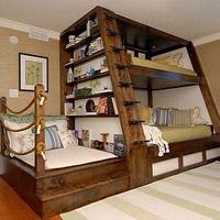 Встроенная мебель для детской: особенности, достоинства и недостатки