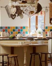 Тенденции 2012 года: кафельные кухни в новом стиле