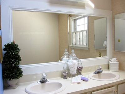 Дизайн ванной комнаты и зеркала своими руками