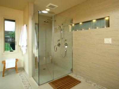 for Fall in shower floor