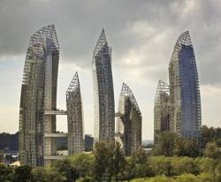 Первый азиатский проект Даниеля Либескинда откроется в марте в Сингапуре